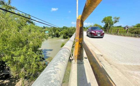 Temen colapso del puente Santa Rosa