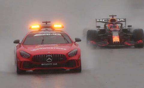 GP de Bélgica el más corto en historia de F1
