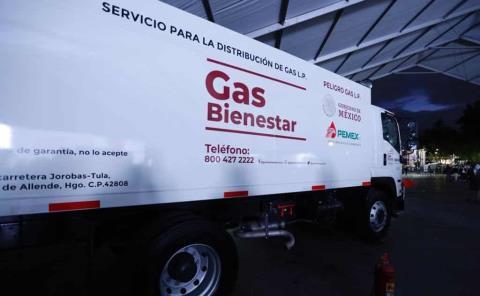 Inicia venta de Gas Bienestar