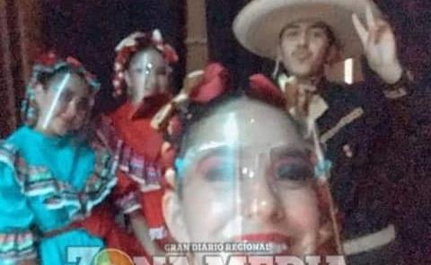 Niños promueven la danza folclórica