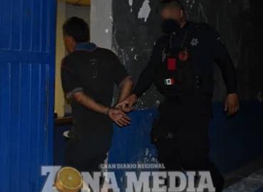 Dos detenidos por revoltosos