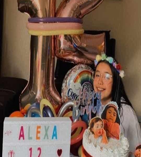 Alexa López Ramírez estuvo de aniversario