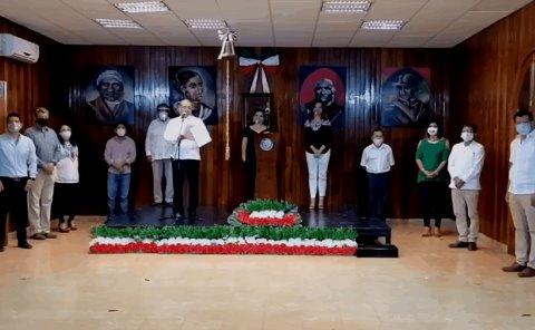 Grito de Independencia en ceremonia virtual