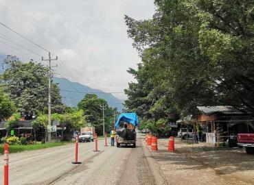 Inició el deslinde de obra carretera