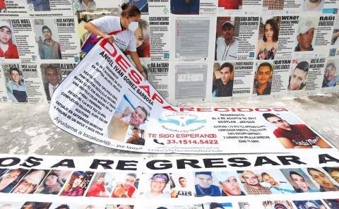 23 desaparecidos