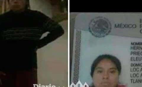 Buscan a mujer desaparecida
