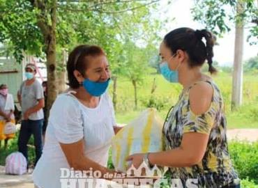 Edil sigue apoyando a familias afectadas