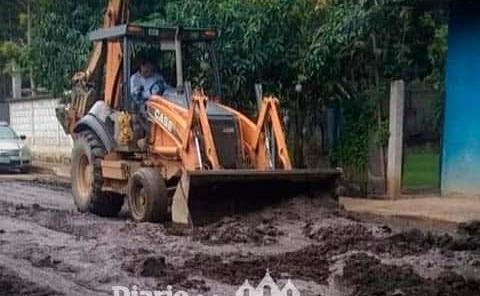 Reconocen las labores de limpieza de caminos