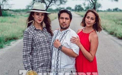 Manolo, Hannia y Flor vivieron grata tarde