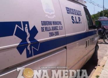Ambulancia sin gasolina