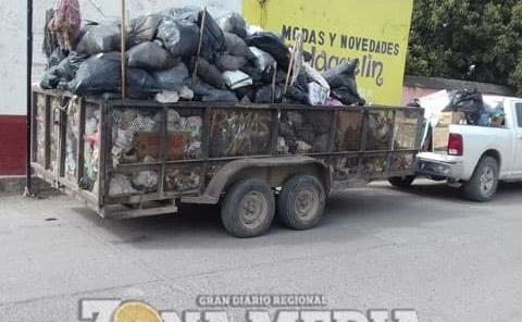 Restablecerán servicio de recolección basura