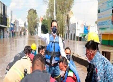 Atienden a familias afectadas por lluvias