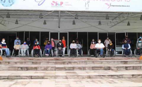 62 MDP invirtieron en discapacitados