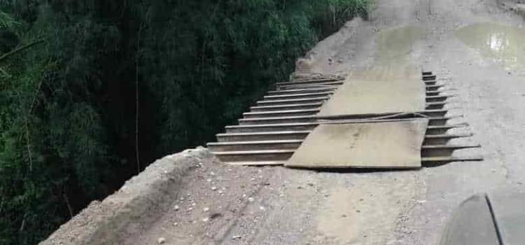 Repararán puente de Tantizohuiche