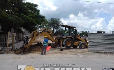 Inician excavaciones para la nueva tienda