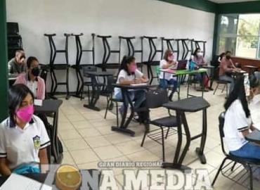50 alumnos en las clases presenciales