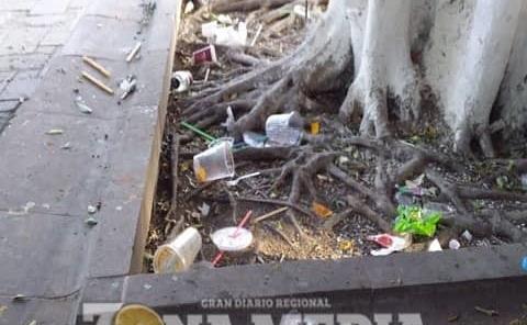 Necesario multar a quien tire basura