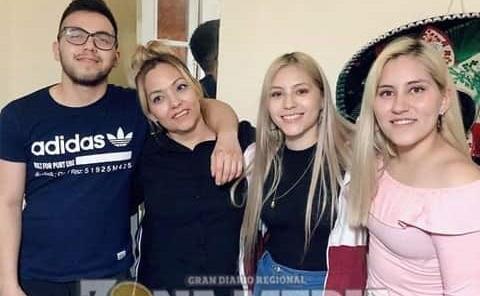 Maribel celebró su fecha en Argentina
