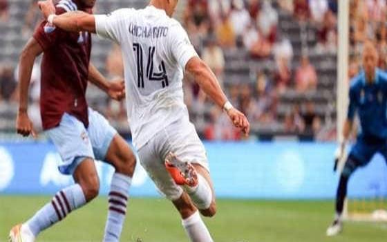 Vuelve Chicharito en empate del Galaxy