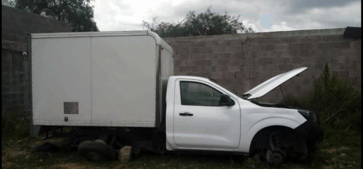 Recuperó la SSPE vehículos robados