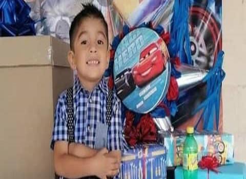 Rodrigo feliz en su cumpleaños