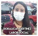 Doralicia Martínez....Labor social