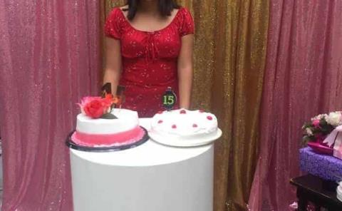 Cumpleaños de Geraldine Prado