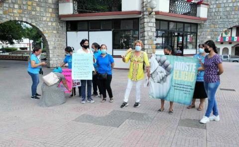 Protestaron contra el aborto en Valles