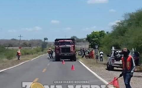 Falta rehabilitar tramo carretero