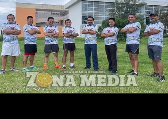 """Gran equipo de atletismo """"Guerreros"""""""