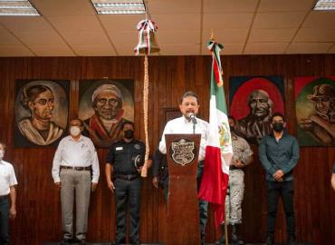 Toño Costa vitoreó a los Héroes de Independencia
