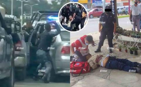 Disparo fue en legitima defensa: SSPE tras matar a agresivo tipo en Huejutla