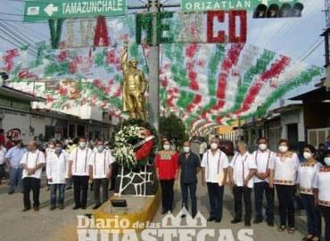 Homenajean a Miguel Hidalgo