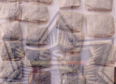 Cayó mujer con 28 bolsitas de marihuana en Tamán
