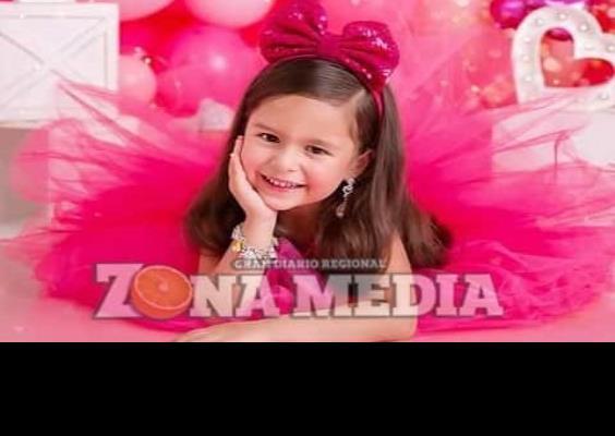 La bella Angelina cumplió 4 años