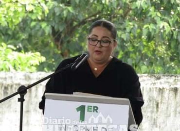 Alcaldesa rindió primer informe