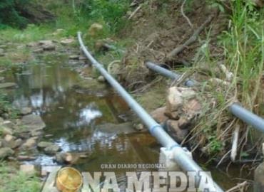 Obsoleto sistema de agua en ejido