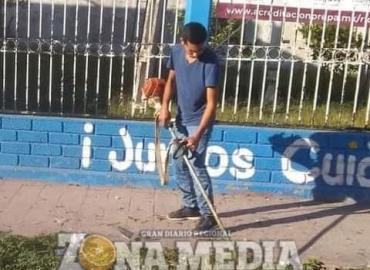 Pobladores no limpian calles