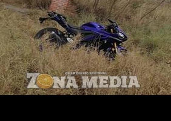 Motociclista lesionado