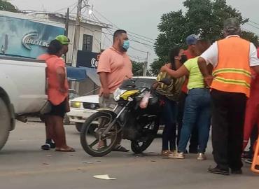 MOTOCICLISTAS  ACCIDENTADOS
