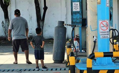 $29 aumentó el tanque de gas