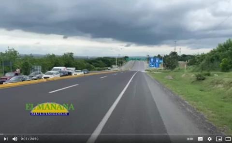 Cierran la carretera Ciudad Valles - Rioverde