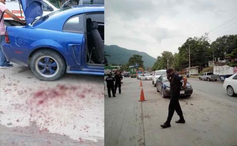 Hombre es apuñalado por su pareja en Matlapa