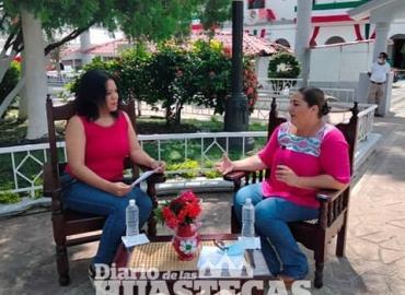 En Entrevista con Alcaldesa