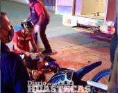 Atropellan a motociclistas