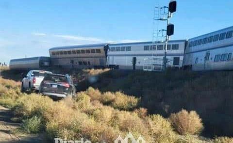 Descarrilamiento de tren deja 3 muertos