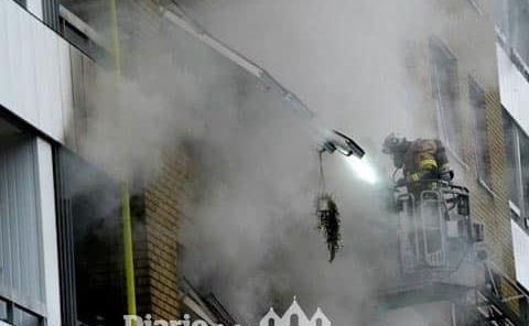 16 heridos en explosión