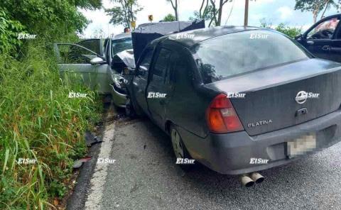 Deja accidente 5 heridos de Tamazunchale