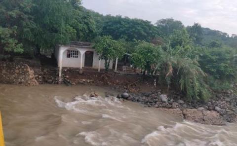 Se desbordó el río Tultitlán