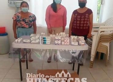 Sanidad entregó medicamentos